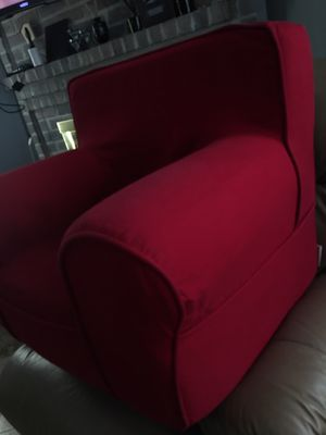 Red Pottery barn kids chair for Sale in Cypress, TX