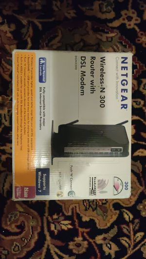 Wireless router and modem for Sale in Canonsburg, PA