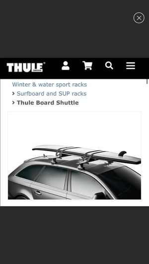 Thule Surfboard and SUP rack for Sale in Houston, TX