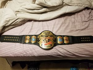 Taz ECW World Heavyweight Title by Figure Toys for Sale in Knightdale, NC
