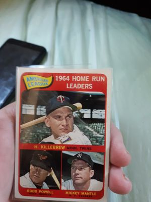 Old baseball cards for Sale in Bear Creek, NC