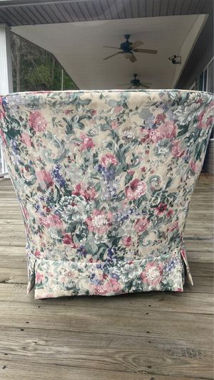 Antique floral chair for Sale in SUTTON, WV