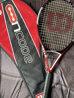 Wilson N Code 5 Tennis Racket for Sale in Vienna,  VA