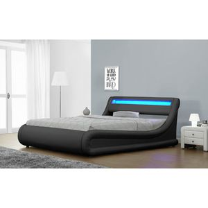 Jovenko Upholstered LED Storage Platform Bed for Sale in North Miami, FL