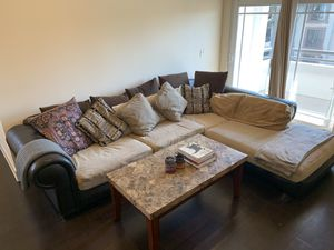 Very Comfortable Large Sectional Sofa with Chaise for Sale in Los Angeles, CA