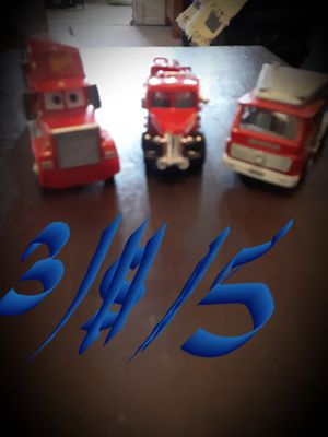 3 collectable toy trucks for Sale in Phoenix, AZ