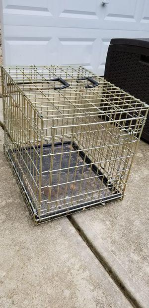 Heavy Gauge Metal folding dog crate for Sale in Hillsborough, NC