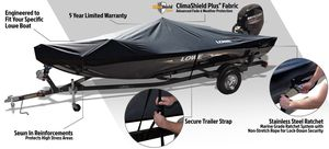 Lowe Boat branded Boat Cover up to 16 feet for Sale in Los Angeles, CA