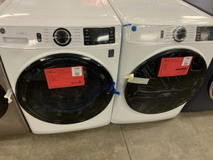 New GE Washer Dryer Set On Sale 1yr Factory Warranty for Sale in Chandler, AZ