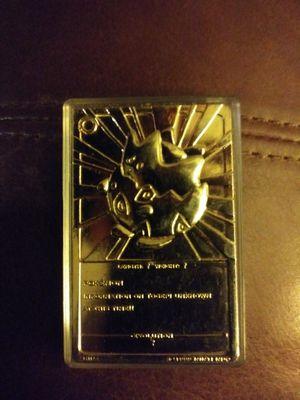 Pokemon Collector Medallion for Sale in Murfreesboro, TN