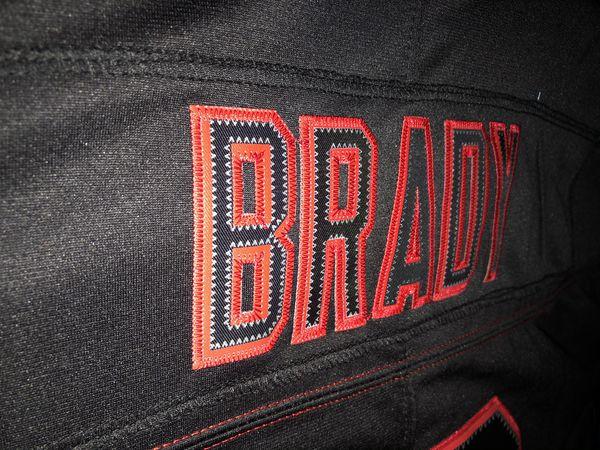 New Tom Brady New England Patriots Nike NFL Jersey Black TB12