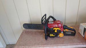 14 inch gas Homelite chainsaw for Sale in Rancho Santa Fe, CA