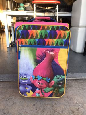 Kids troll carry on luggage for Sale in Las Vegas, NV