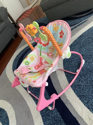 Baby girl rocker for Sale in Chantilly, VA