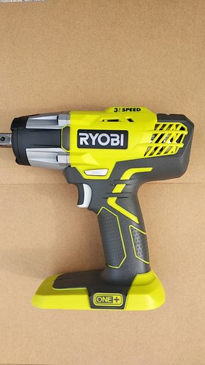 Used Ryobi P261 18V Impact Wrench for Sale in Rockville, MD
