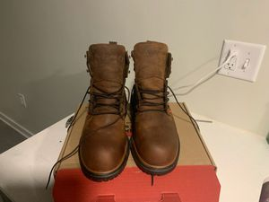 Men's red wing 10 1/2 steel toed work boots. for Sale in Kansas City, MO