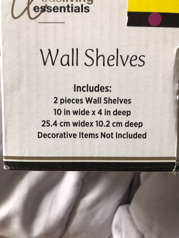 Small wall shelves