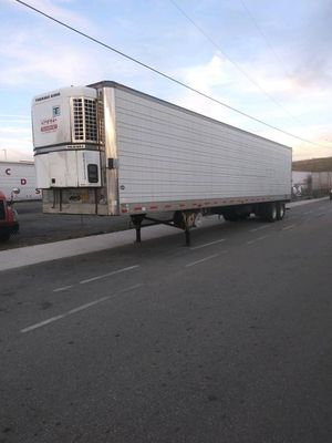 1997 utility refrigerated trailer for Sale in San Bernardino, CA