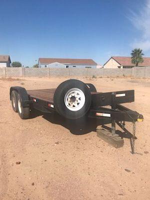 2006 flat bed trailer for Sale in Glendale, AZ