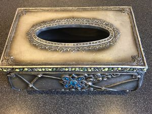 Beautifully Decorative Tissue Box for Sale in Gainesville, VA