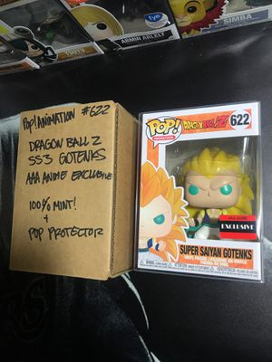 Funko Pop! #622: Dragon Ball Z: Super Saiyan 3 Gotenks for Sale in Martinez, CA