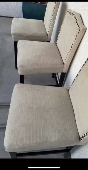 3 barstools need cleaning $50 for all 3 for Sale in Manteca, CA