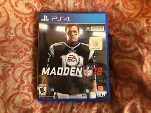 Madden 18 PS4 *NEW* for Sale in Atlanta, GA
