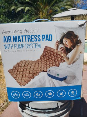 $60 AIR MATRESS PAD WITH PUMP for Sale in Las Vegas, NV