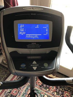 Vision Fitness Bike for Sale in Sudley Springs, VA