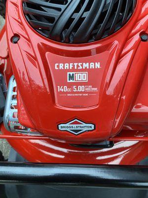 Craftsman M100 140cc 5.00 push mower for Sale in Houston, TX