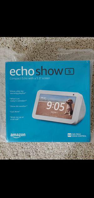 Amazon Echo Show 5 - Brand New for Sale in Sammamish, WA
