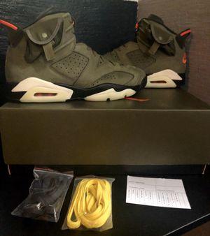 Travis Scott X Retro Jordan 6 size 11.5 for Sale in Lynnwood, WA