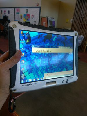 Panasonic toughbook notebook tablet touchscreen for Sale in Los Angeles, CA