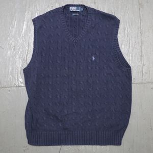 Polo by Ralph Lauren cable knit vest for Sale in Pomona, CA