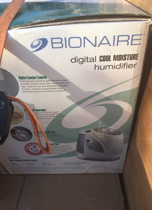 Bionaire digital cool Humidifiers for Sale in Stockton, CA