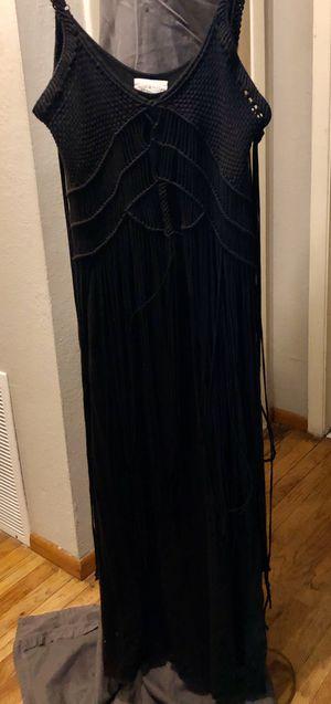 Ralph Lauren fringe maxi dress XL for Sale in Stockton, CA