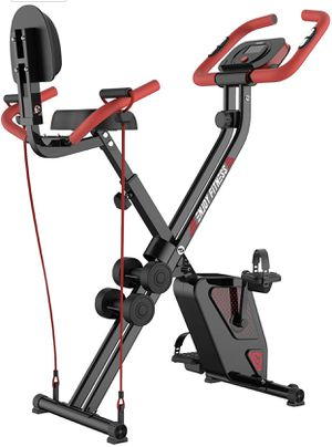 Folding Exercise Bike Indoor Cycling Bike for Sale in Frederick, MD