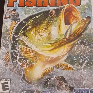 Sega BASS Fishing (Nintendo Wii + Wii U) for Sale in Lewisville, TX