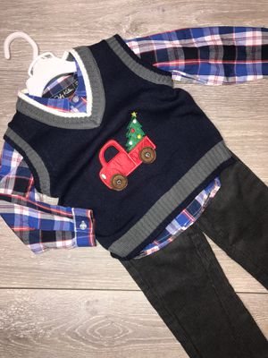 Toddler Boy Clothing 🎄Christmas Outfit 2T $12 for Sale in South Gate, CA