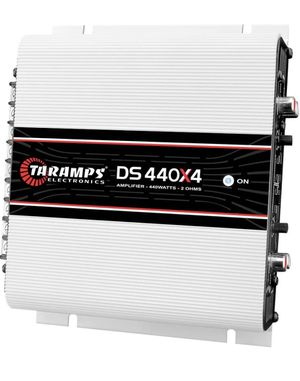 New Taramps DS440X4 2 Ohms 4 Channels Compact Amplifier for Sale in Gardena, CA