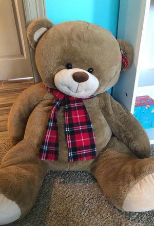 Glitzy large stuffed bear for Sale in Austin, TX