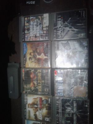 Ps3 games and a xbox 360 hardrive (read description) for Sale in Obetz, OH
