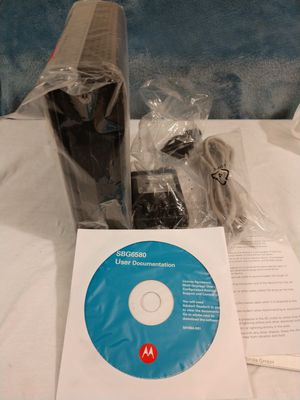 MOTOROLA *WIRELESS* CABLE MODEM (NEVER USED). for Sale in Nashville, TN