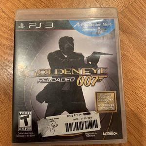 PS3 Goldeneye Reloaded Game. Complete! for Sale in Iowa City, IA