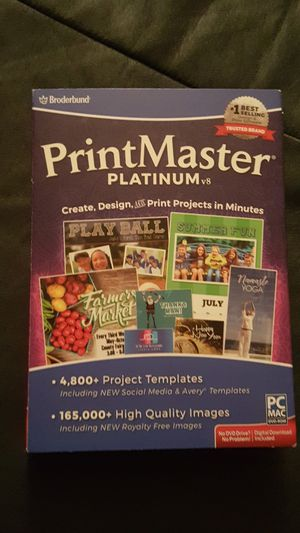 Printmaster Software never been used for Sale in Longview, TX