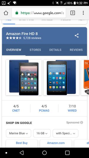 Amazon fire 8 barely used for Sale in Denver, CO