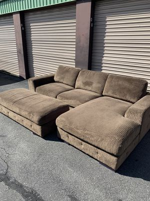 Sectional and Ottoman - Local Delivery Available for Sale in Virginia Beach, VA