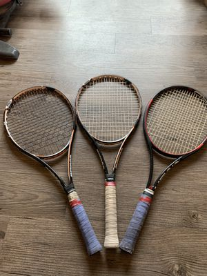 Graphite rackets and tennis ball cage for Sale in Modesto, CA