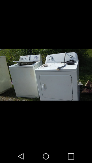 $650 washer and dryer for Sale in Oskaloosa, IA