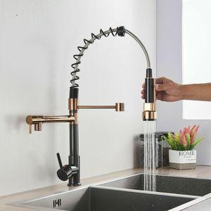 Black+Gold Swivel Kitchen Sink Faucet for Sale in Sunrise, FL